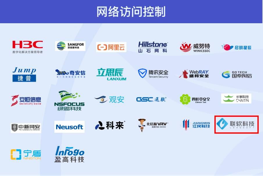 联软科技入选《2020网络安全产业链图谱》9大安全行业方向14个细分领域